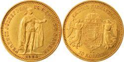 World Coins - Coin, Hungary, Franz Joseph I, 10 Korona, 1904, Kormoczbanya, , Gold