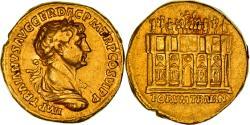 Coin, Trajan, Aureus, 113, Rome, Very rare, AU(50-53), Gold, RIC:257