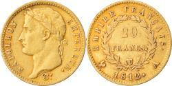 World Coins - Coin, France, Napoléon I, 20 Francs, 1812, Paris, , Gold, KM:695.1