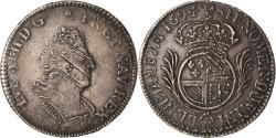 World Coins - Coin, France, Louis XIV, 1/8 Écu de Flandre aux plumes, 1/8 Ecu, 1694, Lille