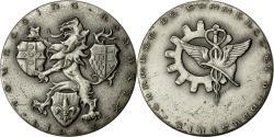 World Coins - France, Medal, Chambre de Commerce Lille-Roubaix-Tourcoing, 1971, Baron