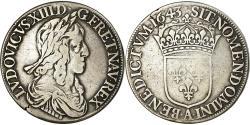 World Coins - Coin, France, Louis XIII, Écu de 60 Sols, deuxième poinçon de Warin, Ecu