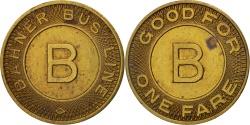 Us Coins - United States, Token, Bahner Bus Line