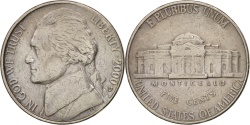Us Coins - United States, Jefferson Nickel, 5 Cents, 2000, U.S. Mint, Denver,