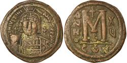 Ancient Coins - Coin, Justinian I, Follis, 541-542, Constantinople, , Copper, Sear:163