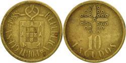 World Coins - Coin, Portugal, 10 Escudos, 1988, , Nickel-brass, KM:633