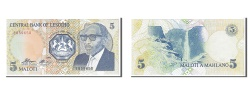 World Coins - Lesotho, 5 Maloti, 1989, KM #10a, UNC(65-70), E859650