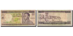World Coins - Banknote, Congo Democratic Republic, 1 Zaïre = 100 Makuta, 1970, 1970-10-01