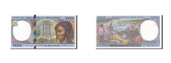 World Coins - Central African States, Chad, 10,000 Francs, 1993-1994, KM:605Pe, 1999, UNC(64)