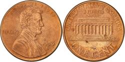 Us Coins - United States, Lincoln Cent, Cent, 1996, U.S. Mint, Denver, , Copper