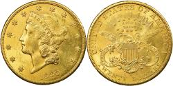 Us Coins - Coin, United States, $20, Double Eagle, 1900, San Francisco, AU(55-58), Gold