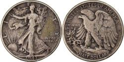 Us Coins - Coin, United States, Walking Liberty Half Dollar, Half Dollar, 1943, U.S. Mint