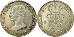 World Coins - Coin, Spain, Joseph Napolean, 4 Réales, 1810, Madrid, , Silver