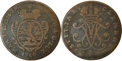 World Coins - Coin, Luxembourg, Maria Theresa, 2 Liards, 1760, Brussels, , Copper