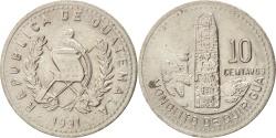 World Coins - GUATEMALA, 10 Centavos, 1991, KM #277.5, , Copper-Nickel, 21, 3.22