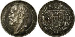 World Coins - Coin, Liechtenstein, Prince John II, Krone, 1900, , Silver, KM:2