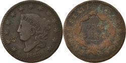 Us Coins - Coin, United States, Coronet Cent, Cent, 1833, U.S. Mint, Philadelphia
