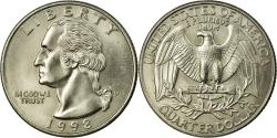 Us Coins - Coin, United States, Washington Quarter, Quarter, 1998, U.S. Mint, Philadelphia