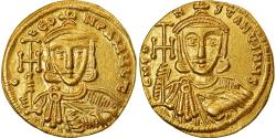 Coin, Constantine V and Leo IV, Solidus, 745-750, Constantinople,