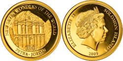World Coins - Coin, Solomon Islands, Petra, Elizabeth II, 10 Dollars, 2009, B.H. Mayer