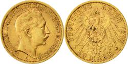 Ancient Coins - Coin, German States, PRUSSIA, Wilhelm II, 20 Mark, 1907, Berlin, EF(40-45)