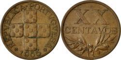 World Coins - Coin, Portugal, 20 Centavos, 1965, , Bronze, KM:584