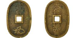 World Coins - Coin, Japan, 100 Mon, Tempo Tsuho, (1835-1870), , Bronze, KM:7