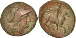 Ancient Coins - Sicily, Syracuse (317-289 BC), Athena, Bronze, Syracuse, , Bronze, 6.51