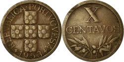 World Coins - Coin, Portugal, 10 Centavos, 1953, , Bronze, KM:583