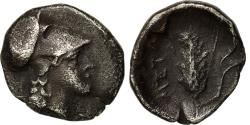 Ancient Coins - Coin, Lucania, Metapontion, Diobol, , Silver, HN Italy:-