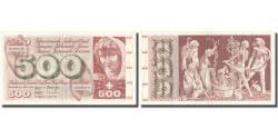 World Coins - Banknote, Switzerland, 500 Franken, 1974, 1974-02-07, KM:51l, AU(50-53)