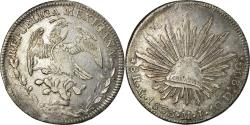 World Coins - Coin, Mexico, 8 Reales, 1833, Mexico City, , Silver, KM:377.10