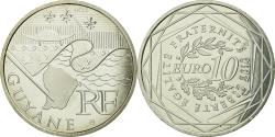World Coins - France, 10 Euro, Guyane, 2010, , Silver, KM:1654