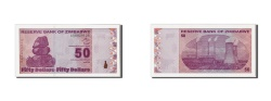 World Coins - Zimbabwe, 50 Dollars, 2009, KM:96, 2009-02-02, UNC(65-70)