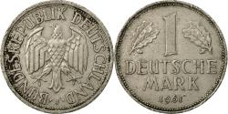 World Coins - Coin, GERMANY - FEDERAL REPUBLIC, Mark, 1961, Hambourg,