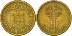 World Coins - Portugal, 10 Escudos, 1990, , Nickel-brass, KM:633