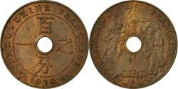 World Coins - Coin, FRENCH INDO-CHINA, Cent, 1910, Paris, , Bronze, KM:12.1