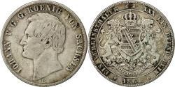 World Coins - Coin, German States, SAXONY-ALBERTINE, Johann, Thaler, 1864, Dresden, EF(40-45)