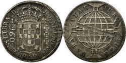 World Coins - Coin, Brazil, 960 Reis, 1813, Rio de Janeiro, , Silver, KM:307.3