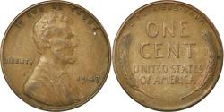 Us Coins - Coin, United States, Lincoln Cent, Cent, 1947, U.S. Mint, Philadelphia