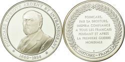 World Coins - France, Medal, Politique, Raymond Poincaré, History, , Silver