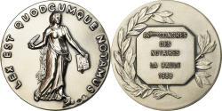 World Coins - France, Token, 84ème Congrès des Notaires de France, La Baule, 1988,