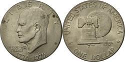 Us Coins - Coin, United States, Eisenhower Dollar, Dollar, 1976, U.S. Mint, Denver