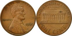 Us Coins - Coin, United States, Lincoln Cent, Cent, 1966, U.S. Mint, Philadelphia