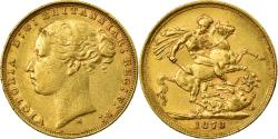 World Coins - Coin, Australia, Victoria, Sovereign, 1878, Melbourne, , Gold, KM:7