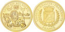 Ancient Coins - France, Medal, Louis XIV Roi Soleil, MS(65-70), Gold