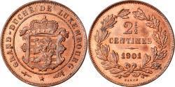 World Coins - Coin, Luxembourg, William III, 2-1/2 Centimes, 1901, Utrecht, , Bronze