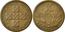 World Coins - Coin, Portugal, 10 Centavos, 1951, , Bronze, KM:583