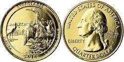 Us Coins - Coin, United States, Everglades, Quarter, 2014, U.S. Mint, , Gold