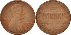 Us Coins - United States, Lincoln Cent, 1975, Denver, , KM:201